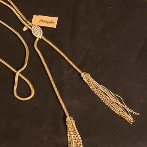 Natasha bolo style necklace.  NEW!